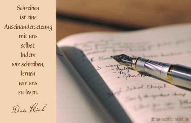 Achtsames Schreiben   Doris Kirch