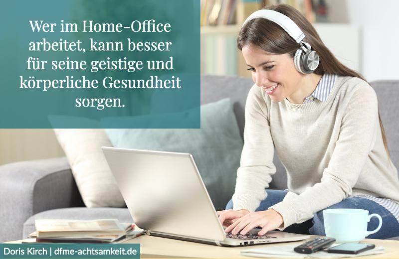 Achtsamkeit und Home-Office