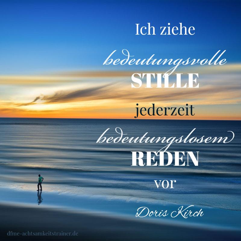 Achtsamkeits-Retreat mit Doris Kirch
