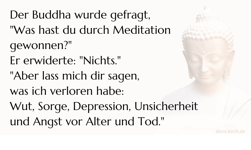 Auszeit Mini-Retreat Schweigen Achtsamkeit Doris Kirch