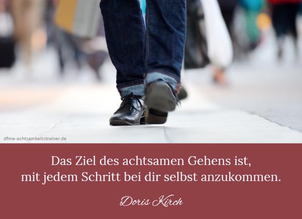 Gehmeditation - Anleitung