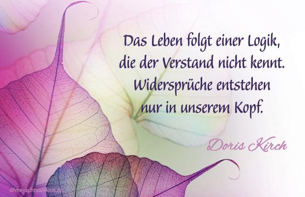 Zitat Doris Kirch zu den Haltungen der Achtsamkeit